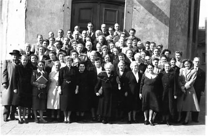 Die Johanniskantorei im Jahr 1952