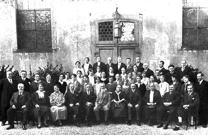 Die Johanniskantorei im Jahr 1927