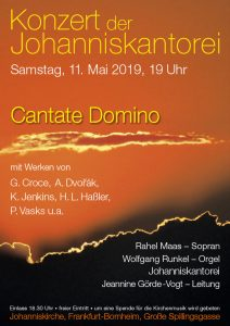 Flyer Cantate Domino